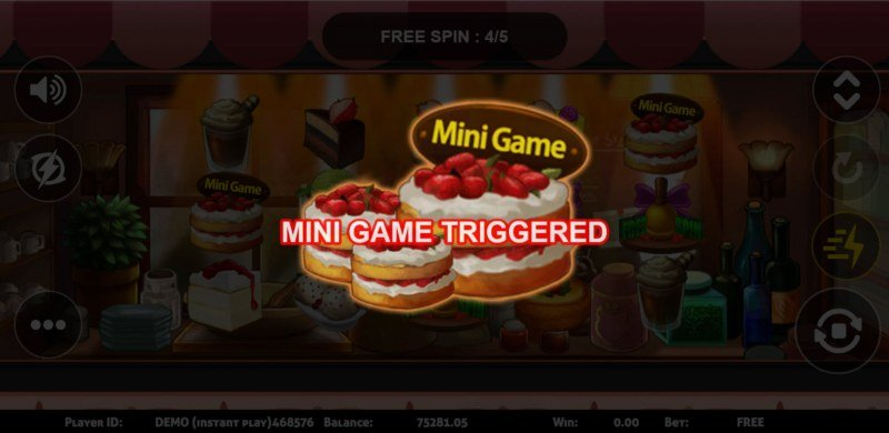 Dessert :: Mini Game trigged