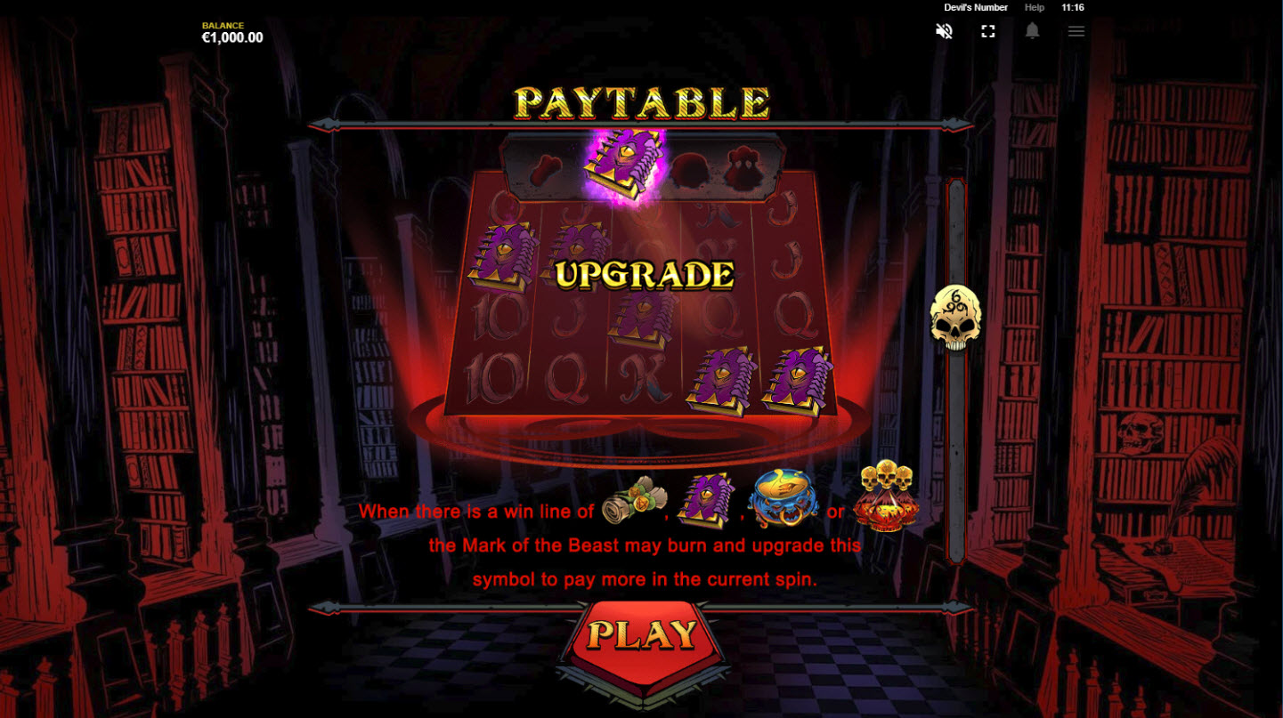 Play slots at Crazy vegas: Crazy vegas featuring the Video Slots Devil's Number with a maximum payout of $100,000