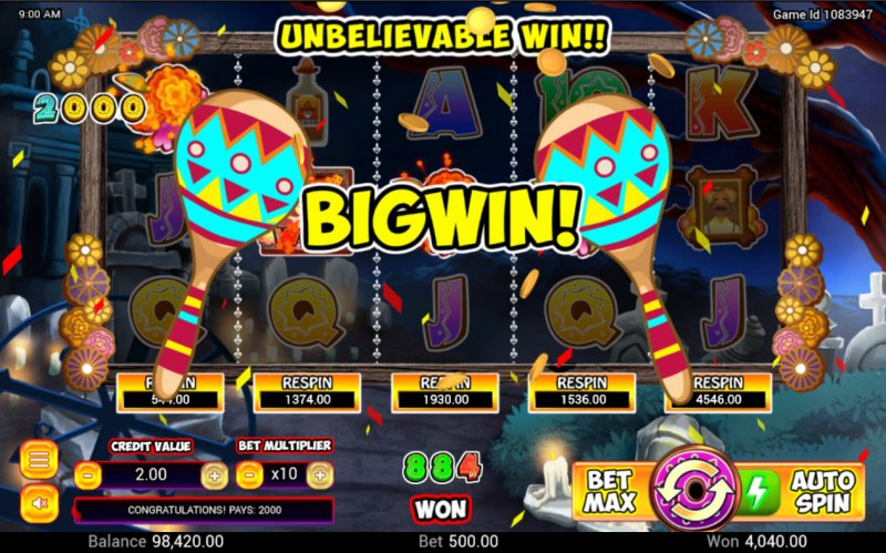 Dia De Muertos :: Big Win