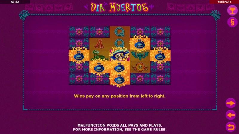 Dia Muertos :: 3125 Ways to Win