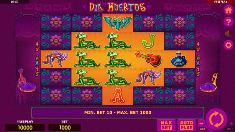 Dia Muertos :: Main Game Board