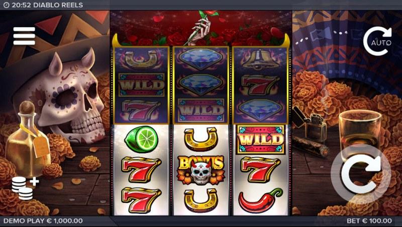 Diablo Reels :: Main Game Board