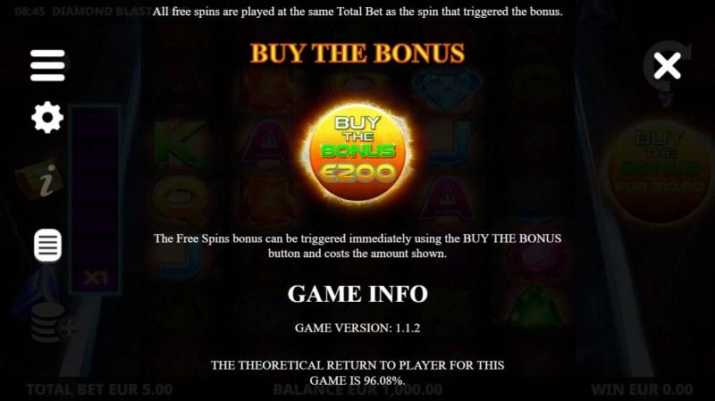 Diamond Blast Zone :: Buy Feature