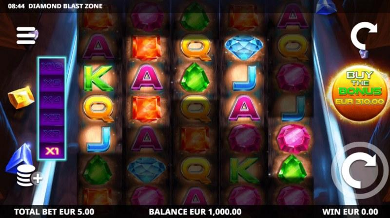 Diamond Blast Zone :: Main Game Board