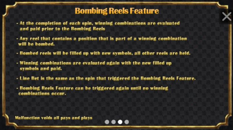 Diamond Crush :: Bombing Reels Feature