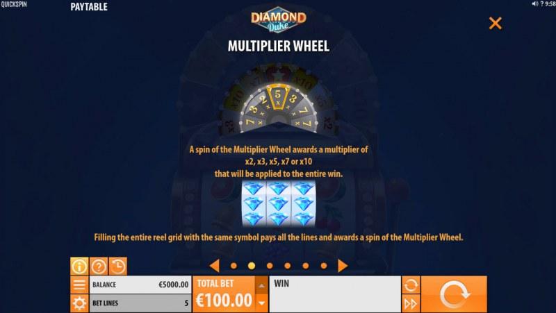 Diamond Duke :: Multiplier Wheel
