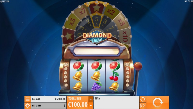 Play slots at YouWin: YouWin featuring the Video Slots Diamond Duke with a maximum payout of $800,000