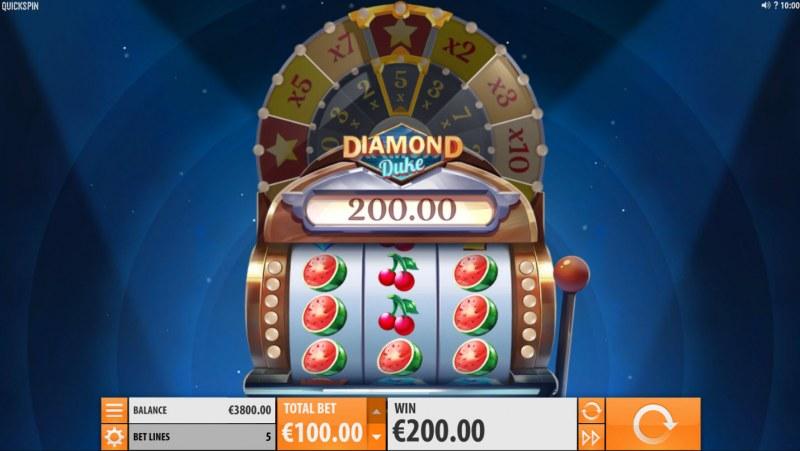 Diamond Duke :: Three of a kind