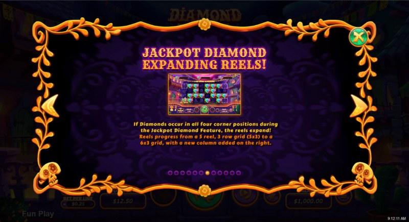 Diamond Fiesta :: Expanding Reels