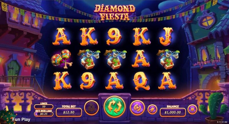 Diamond Fiesta :: Main Game Board