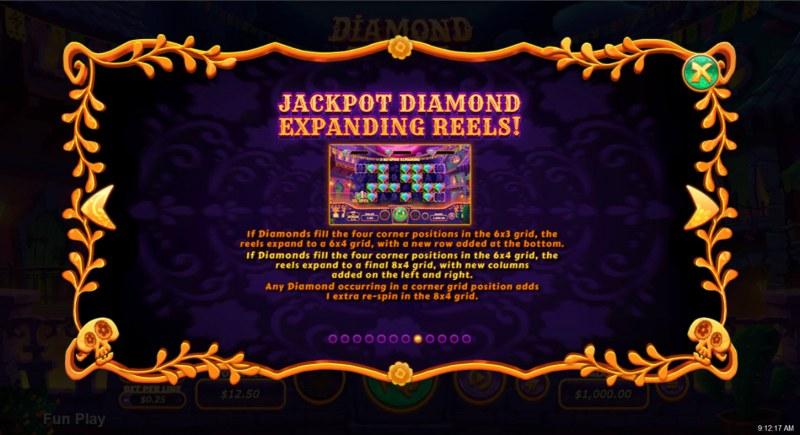 Diamond Fiesta :: Feature Rules