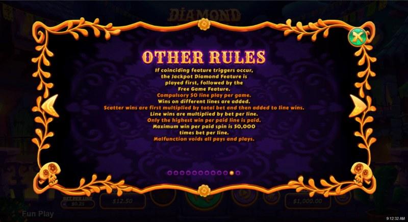 Diamond Fiesta :: General Game Rules