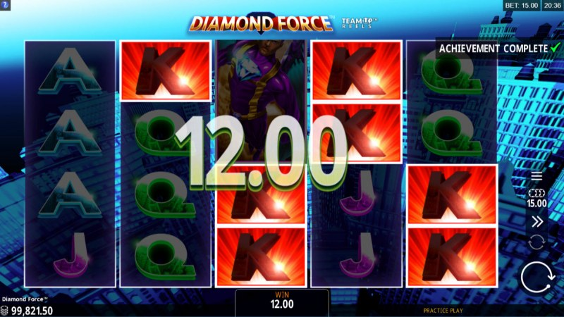 Diamond Force :: Multiple winning combinations