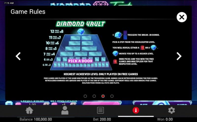Diamond Fortune :: Bonus Feature