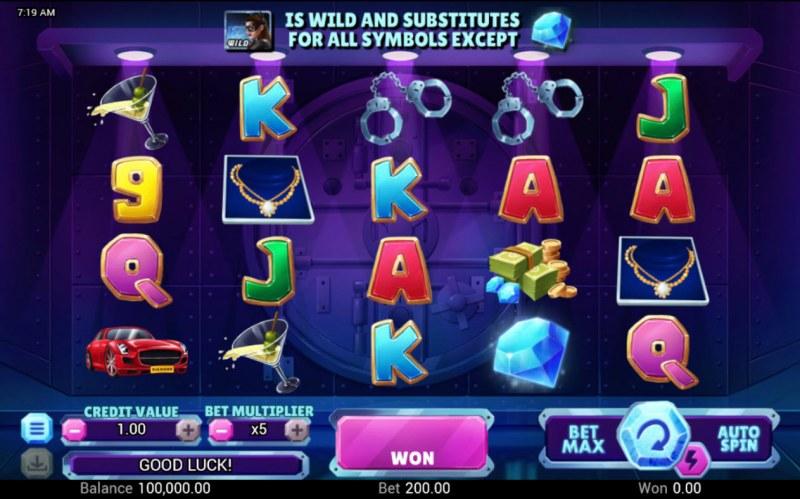 Diamond Fortune :: Base Game Screen