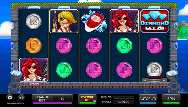 Diamond Geeza :: Main Game Board