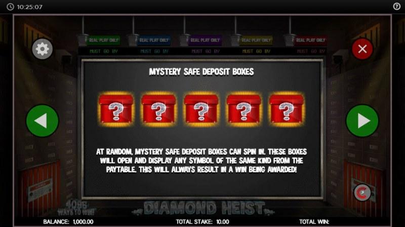 Diamond Heist :: Mystery Boxes