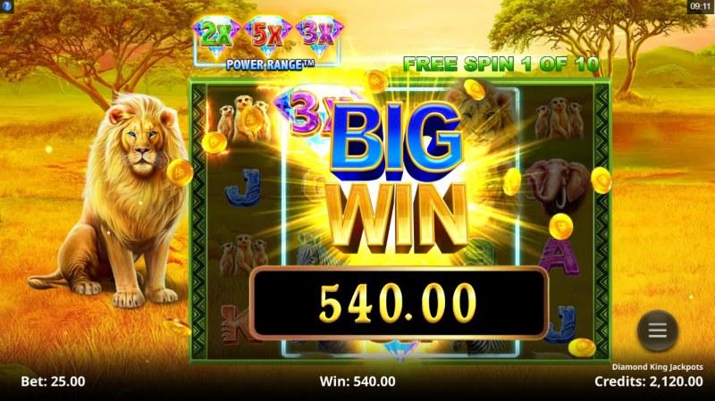 Diamond King Jackpots :: Big Win