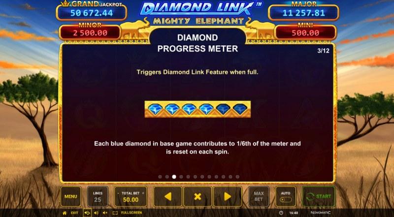 Diamond Link Mighty Elephant :: Diamond Progress Meter