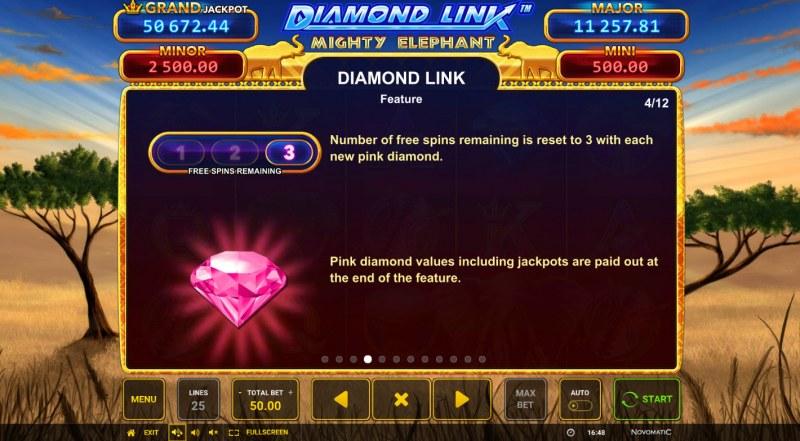 Diamond Link Mighty Elephant :: Diamond Link Feature