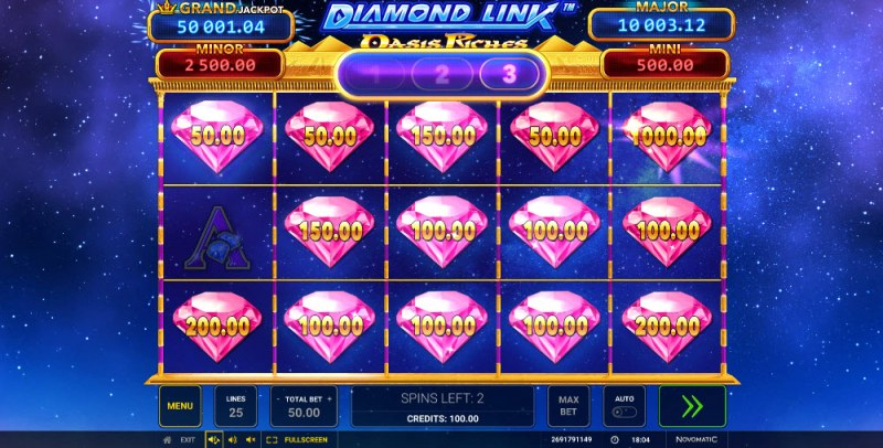 Diamond Link Oasis Riches :: Big Win