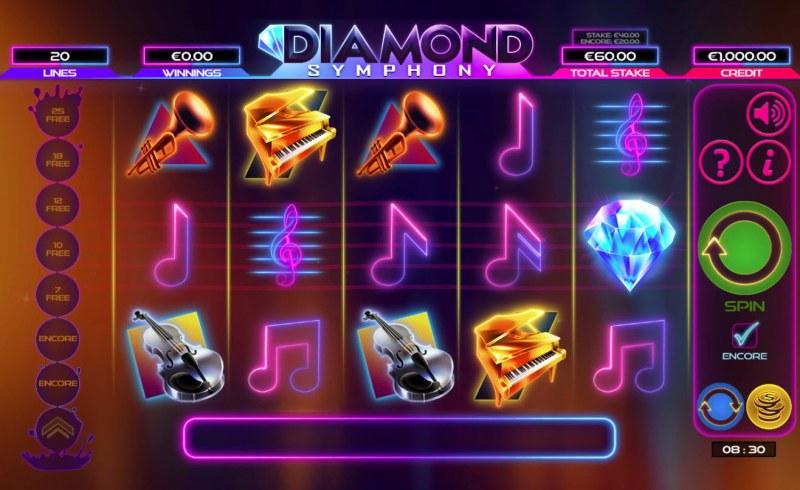 Diamond Symphony :: Main Game Board