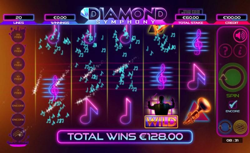 Diamond Symphony :: Multiple winning paylines