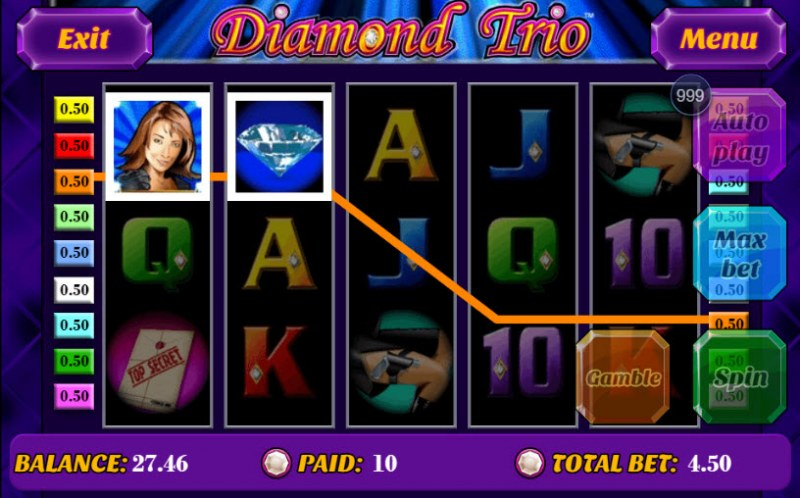Diamond Trio :: Two of a kind
