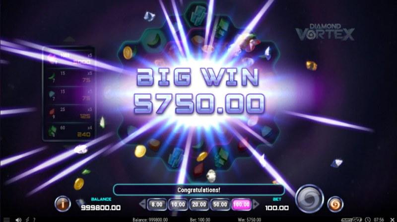 Diamond Vortex :: Big Win