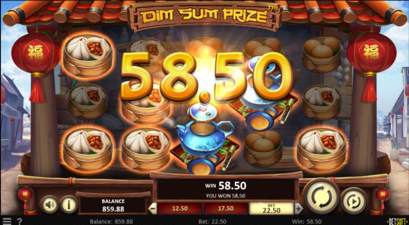 Dim Sum Prize :: Multiple winning paylines