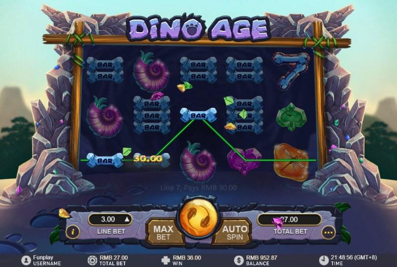 Dino Age :: Three of a kind