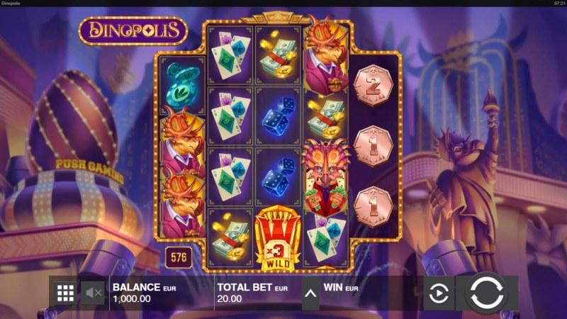 Dinopolis :: Main Game Board