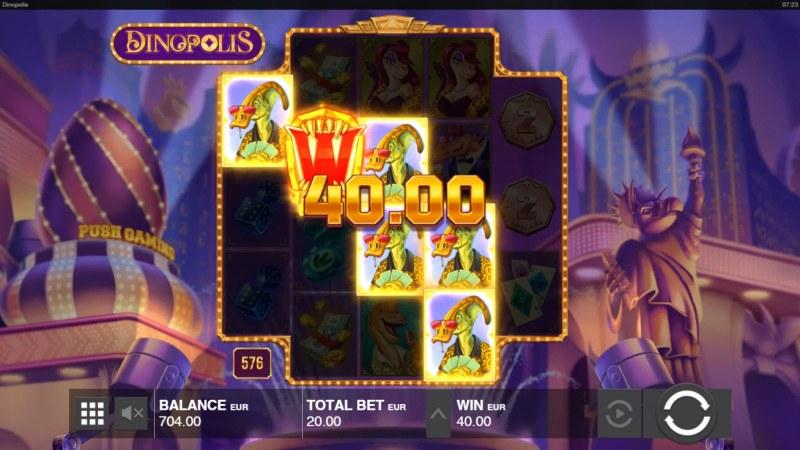 Dinopolis :: Multiple winning combinations