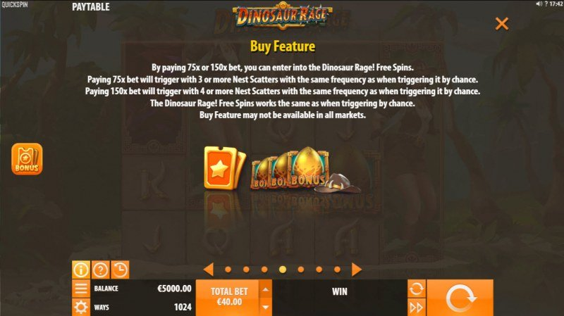 Dinosaur Rage :: Buy Feature
