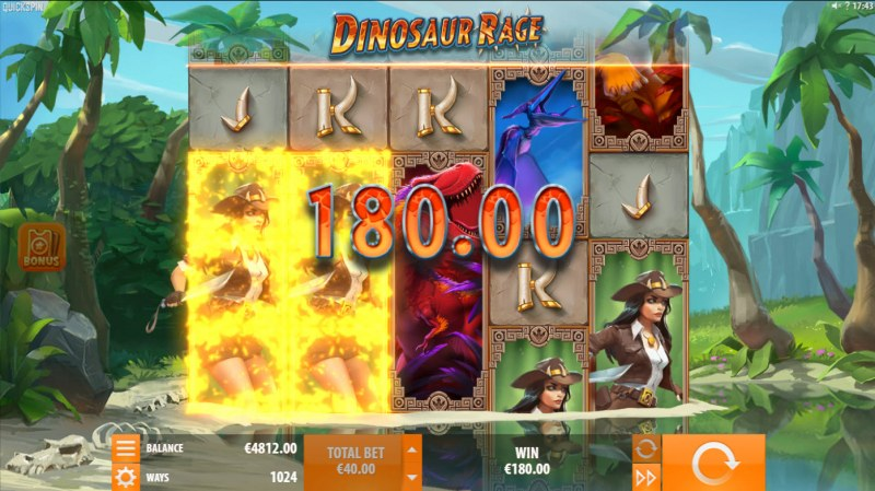 Dinosaur Rage :: Two of a kind win