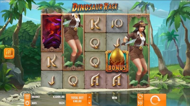 Dinosaur Rage :: Main Game Board