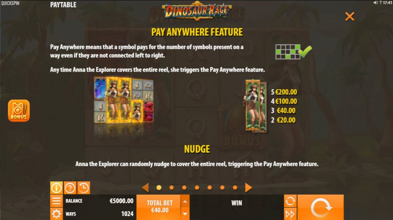 Dinosaur Rage :: Pay Anywhere Feature
