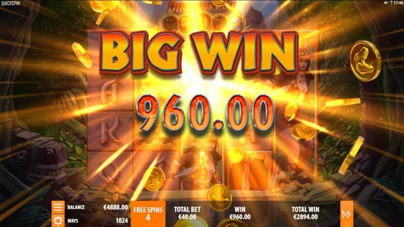 Dinosaur Rage :: Big Win