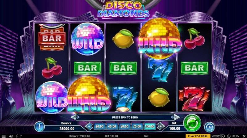 Disco Diamonds :: Main Game Board