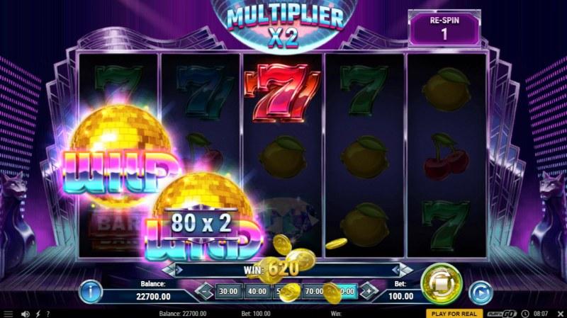 Disco Diamonds :: Multiple winning paylines