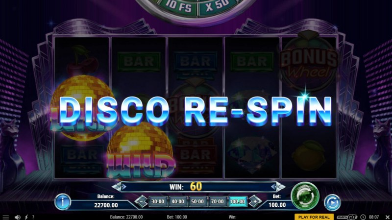 Disco Diamonds :: Respin activated