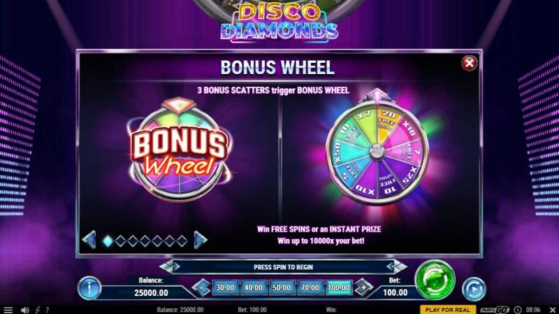 Disco Diamonds :: Bonus Feature