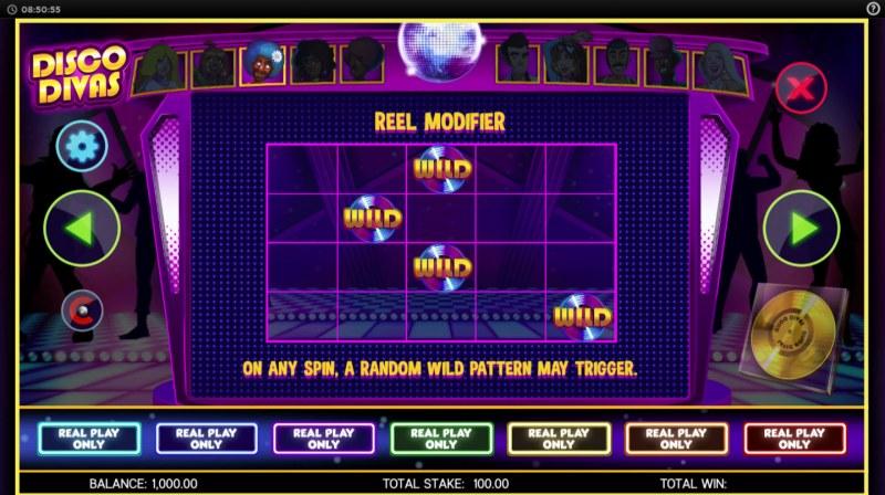Disco Divas :: Reel Modifiers
