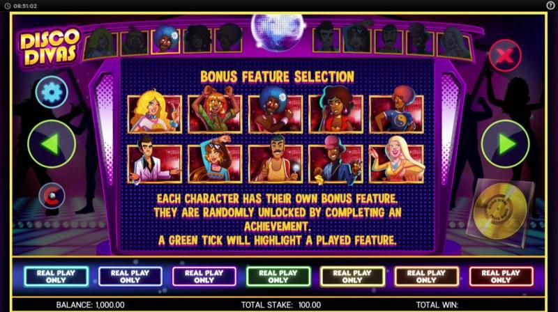 Disco Divas :: Bonus Feature Selection