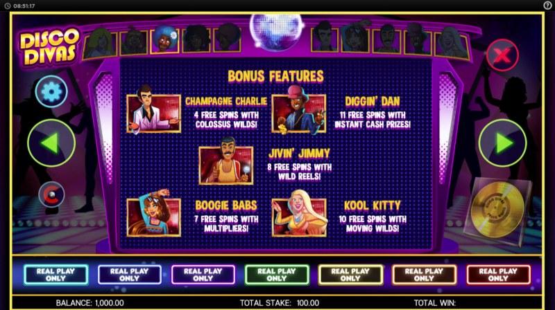 Disco Divas :: Bonus Feature