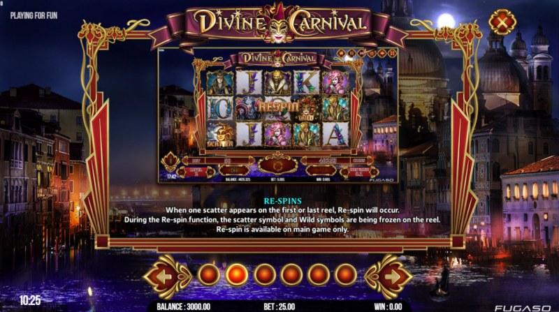Divine Carnival :: Re-Spins