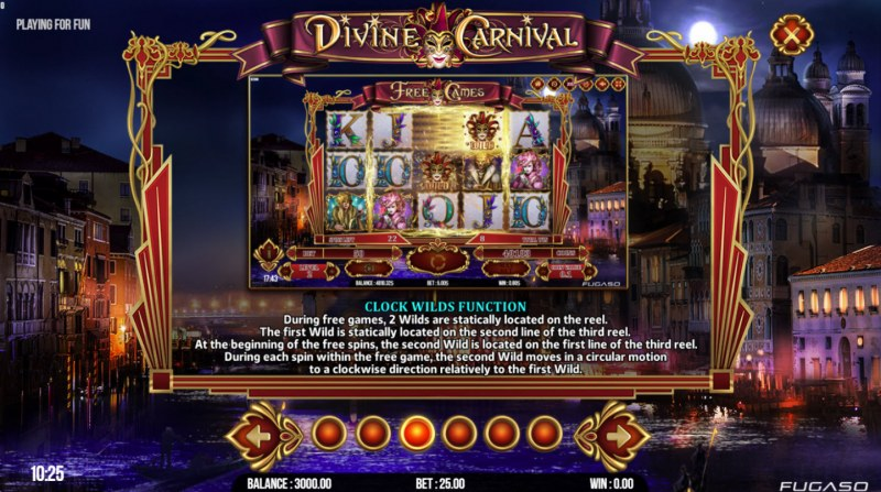 Divine Carnival :: Clock Wild Function