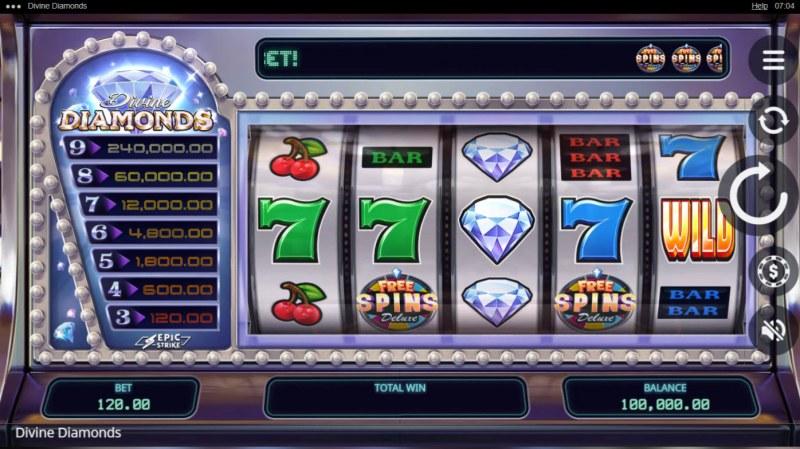 Divine Diamonds :: Main Game Board