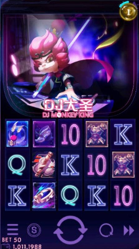 DJ Monkey King :: Main Game Board