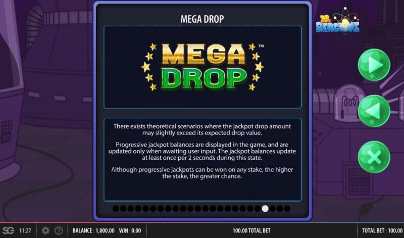 Doctor Reactive Mega Drop :: Mega Drop Rules